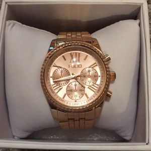 Folio Rose Gold Watch